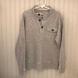 Crazy 8 Shirts & Tops - Boys grey, long sleeve sweater